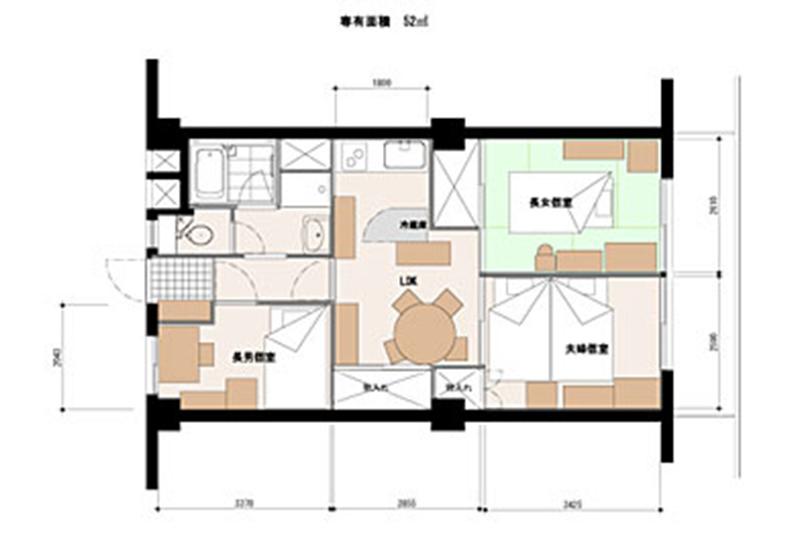1)建物の現状